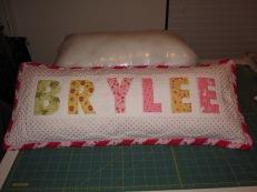Byrlee's Pillow 2009