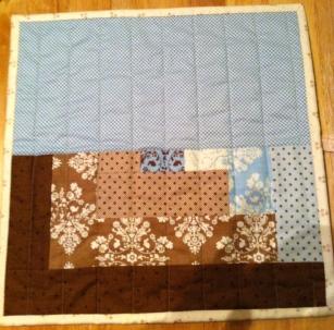 Knitting Needle Holder - Inside w/ Pockets