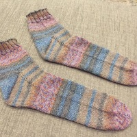 Summer Socks Done!
